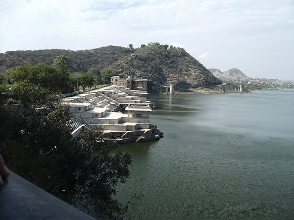 Rajsamand Lake near Udaipur rj