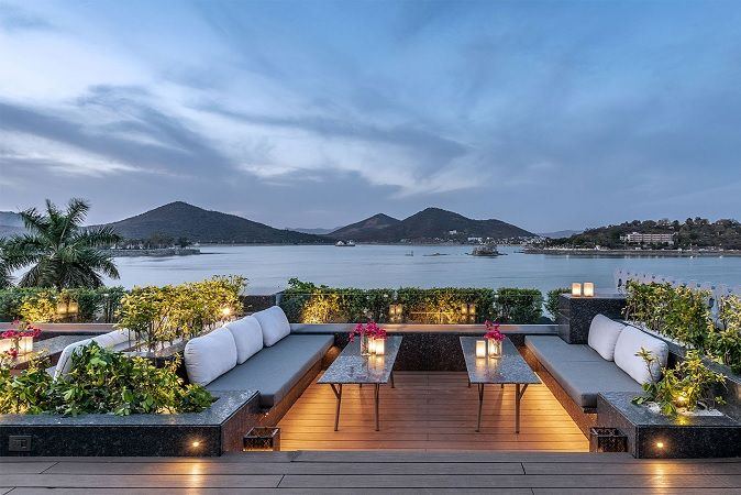 Bougainvillea Terrace by the lake Udaipur